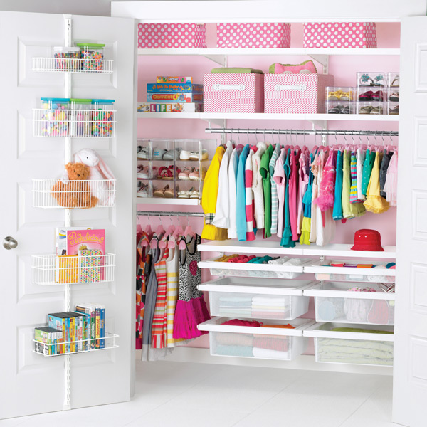 Grampa Built Some Shelves And We Bought Some Cute Storage Totes, Etc. And  Now The Kids Have Neat, Well Organized Closets    Letu0027s See How Long It  Lasts!